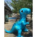 Dinosaur water sprinkler