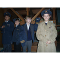 We got to wear 'real' WW2 uniforms.
