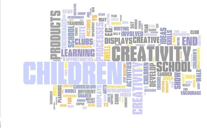 How children perceived creativity Y1 & 2