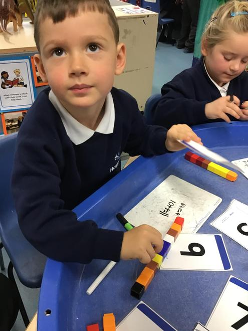 adding and writing number sentences