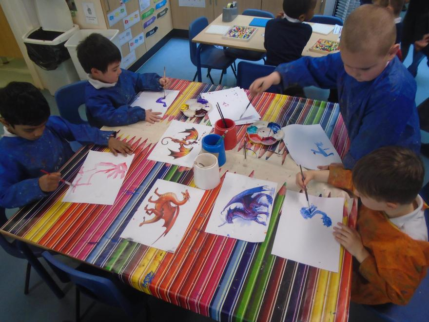 We created our own dragons!