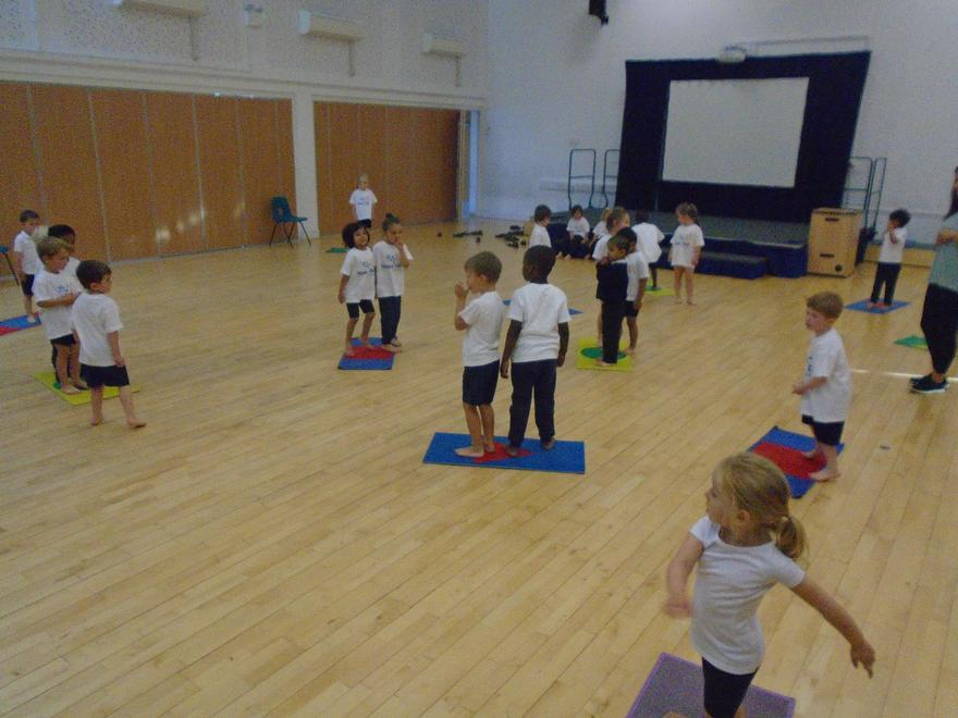 We are learning to move in different ways.