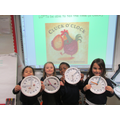 We made clocks.