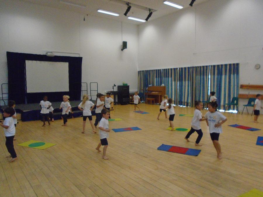 Reception PE lessons