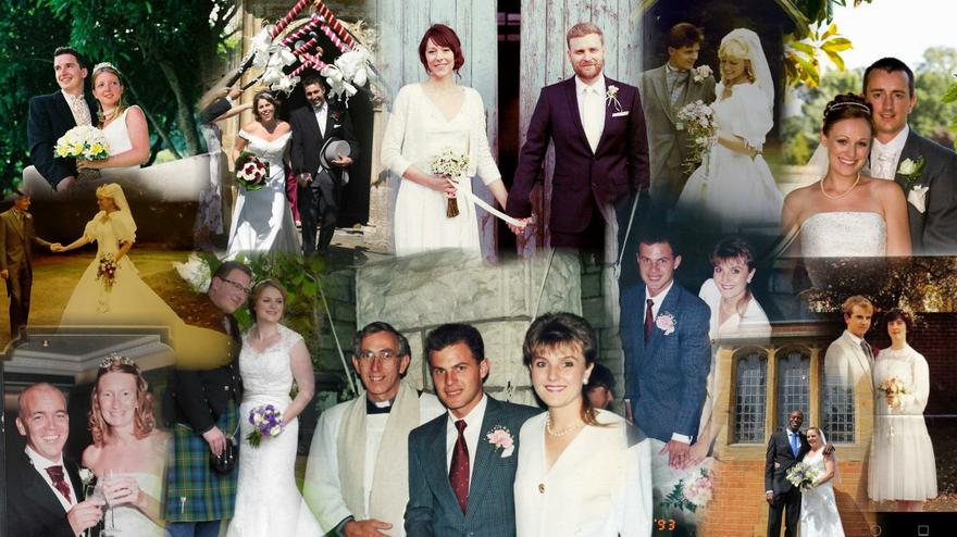 30 years of weddings prior to a new staff bride