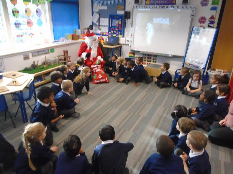 We each received a present, very exciting!