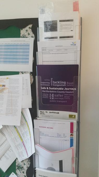 Safeguarding paperwork accessible