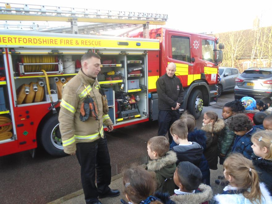 We counted how many ladders are on a fire engine