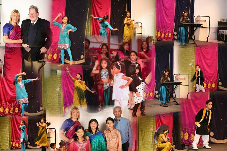 Bollywood Evening celebrated our diverse HD family