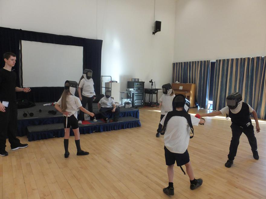 Fencing through Sports Partnership