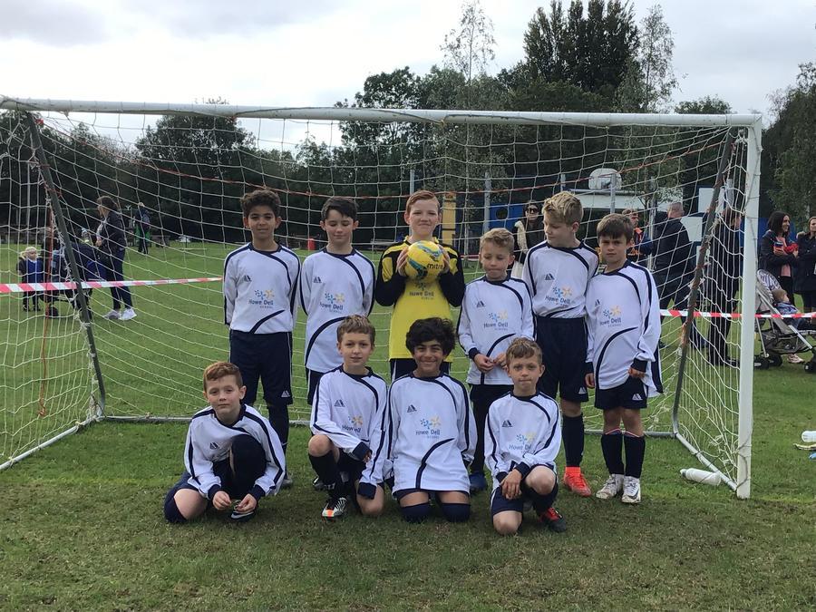 Howe Dell Year 5/6 Boys Football Team