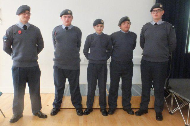 Onslow provided Air Cadets