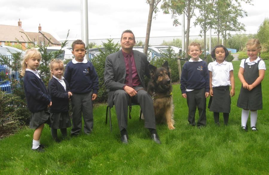 Steve Cunningham inspired guide dog Wonder Day