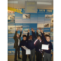 We looked at how aeroplanes changed over time