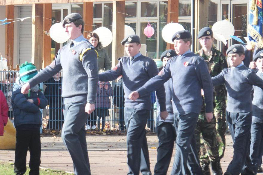 Cadets parade with pride