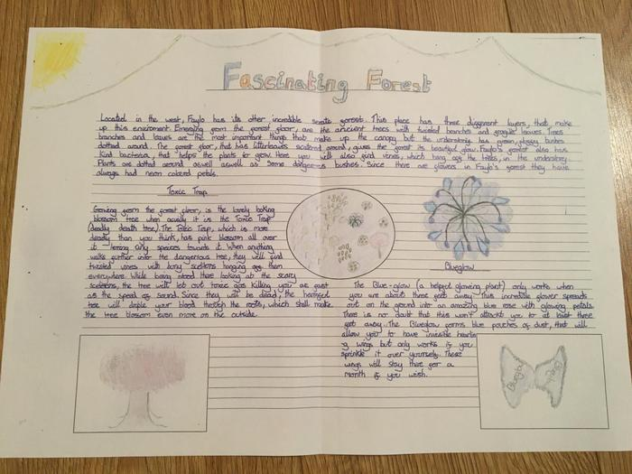 Well done Chloe in 5J,
