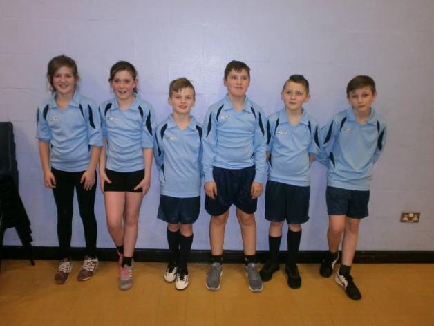 Year 5/6 dodgeball team