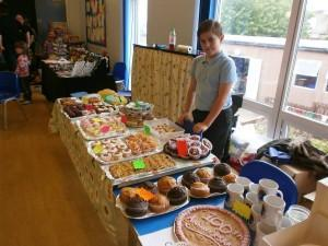 School Council Cake Stall-yummy!!