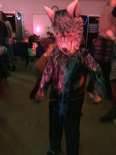 A werewolf!