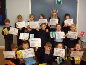 Junior Roald Dahl Winners