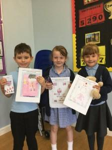 Design a stamp competition winners-Infants