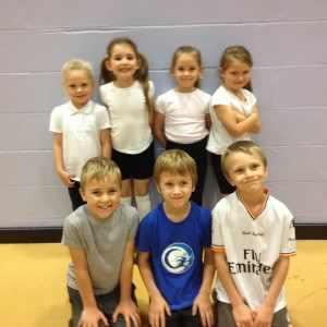 Infants' Athletics Team