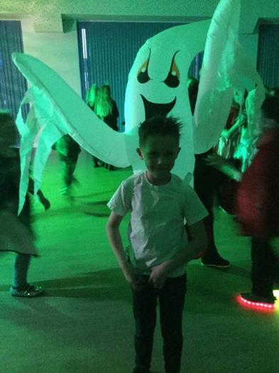There were some ghostly goings on!