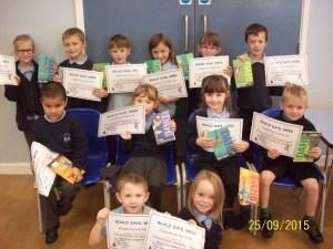 Infant Roald Dahl Winners