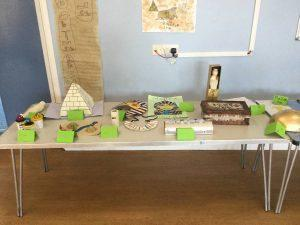 Year 3's Egyptian work.
