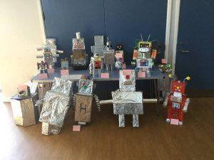 The tin man made by Year 2.