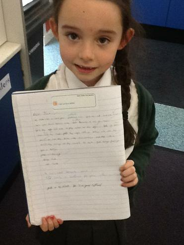 """I am proud of this writing. I worked so so hard!"""