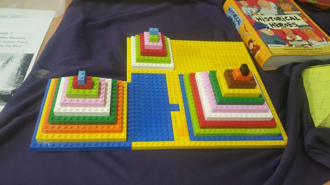 Fabulous lego pyramids!