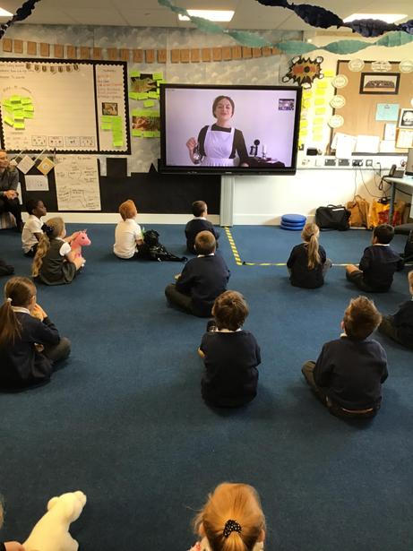 Our virtual visit from the lovely Florence Nightingale