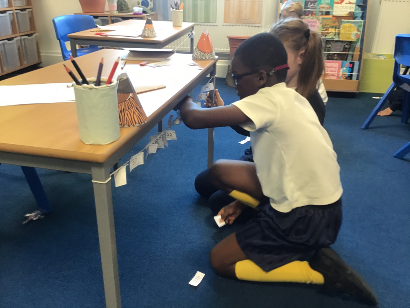 Year 3 number lines