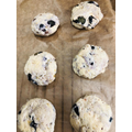 Shreya's blueberry scones
