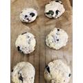 Shreya's Blueberry Scones