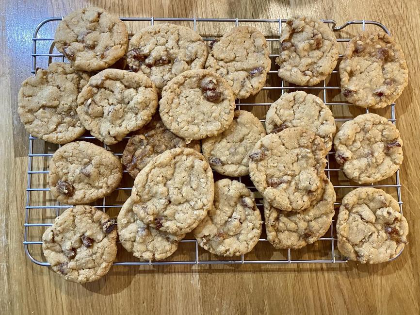 Sophia's oaty energy cookies