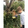 Reuben's bird house