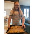 Gluten free oaty energy cookies