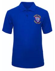 Polo shirt - blue or white