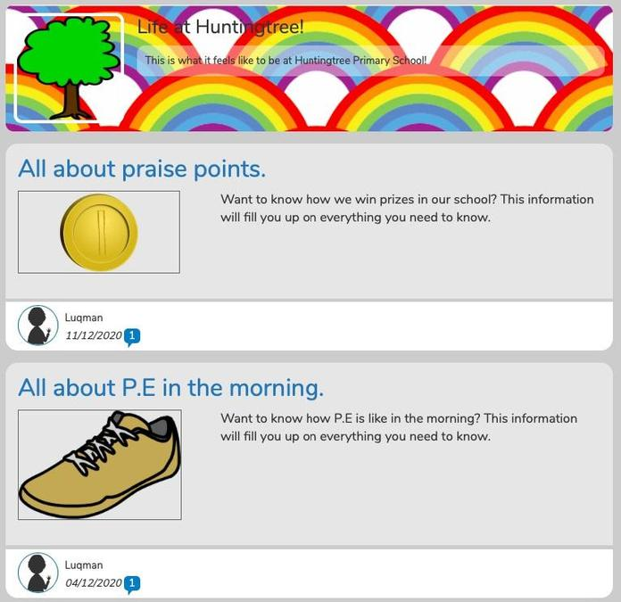 Luqman (6H) has combined text and graphics really well in his blog.
