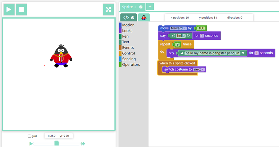 3H - Zak investigated further features of J2code.
