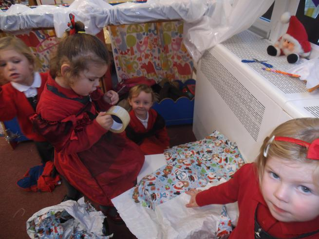 We are Santa's helpers!