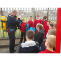 Merseyside fire service came to visit out school.