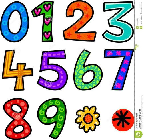 Come to school representing a number or shape!