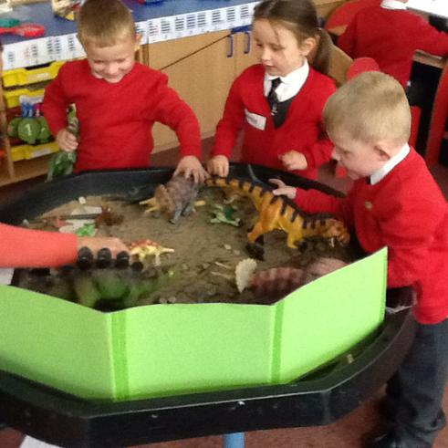 We love learning about dinosaurs