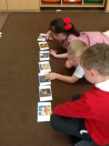 Retelling the story with friends