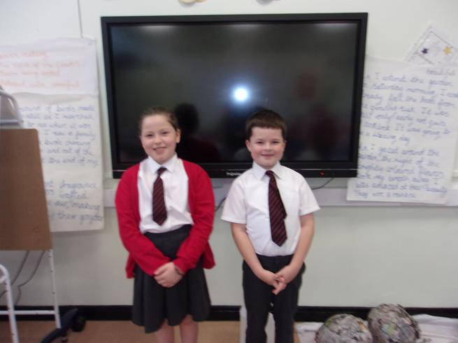Well done to our new Student Councillors