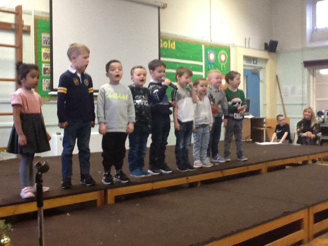 Reception has got talent!