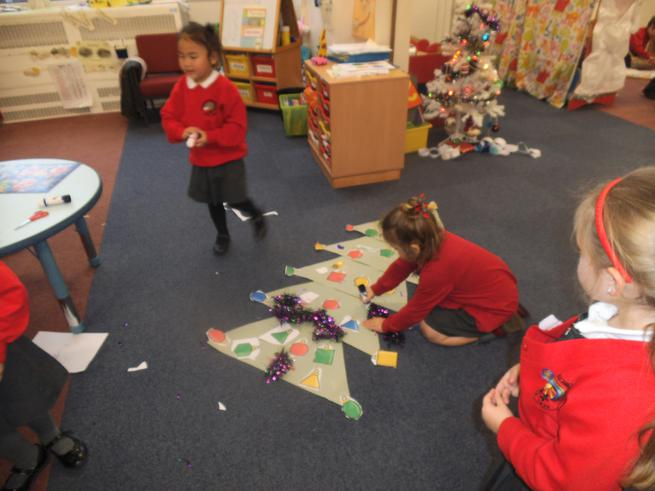 We have made our own Christmas tree!